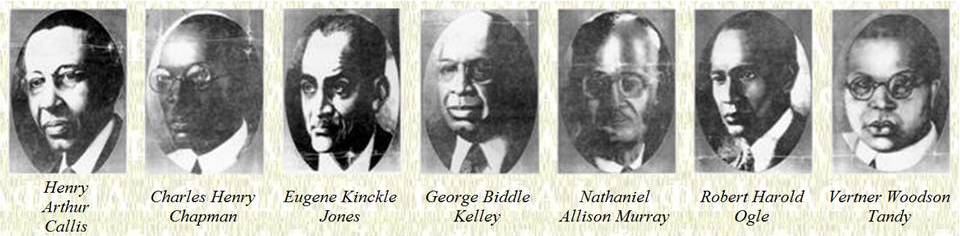 The Seven Jewels, Founders of Alpha Phi Alpha Fraternity, Inc.