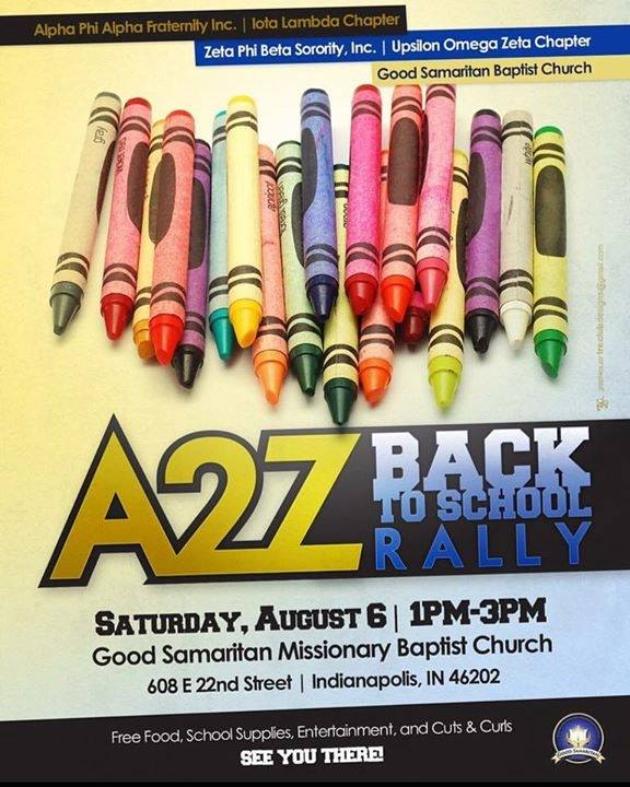 A 2 Z Back To School Event August 6