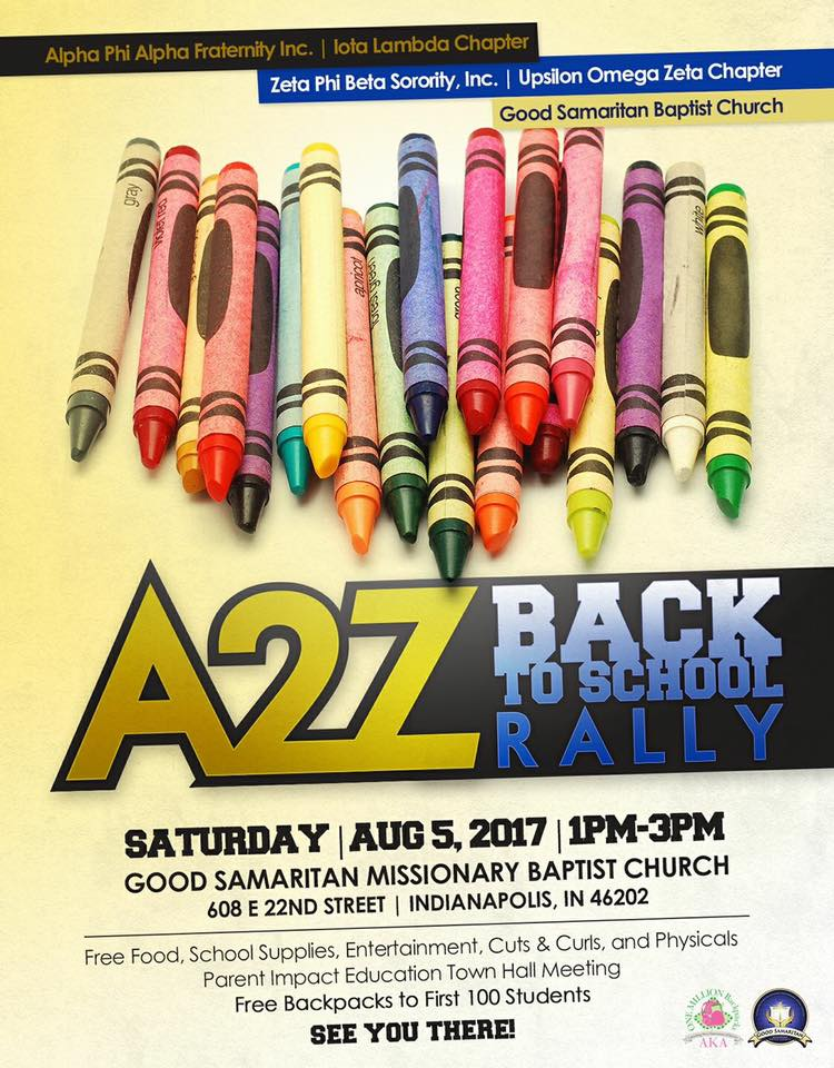 SAVE THE DATE – AUGUST 5 – BACK TO SCHOOL RALLY